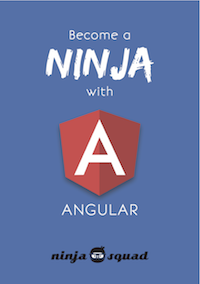 Cover of ebook Become a ninja with Angular